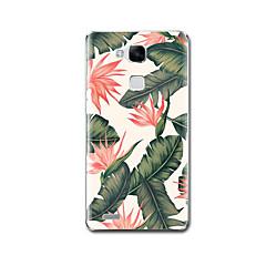 Для Чехлы панели Нарукавная повязка С узором Задняя крышка Кейс для Цветы Мягкий TPU для Huawei Huawei Mate 9 Huawei Mate 8 Huawei Mate 7