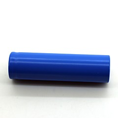Lithium Ion 18650 Rechargeable Battery 3.7V 1 Pack Blue Flat Top Battery