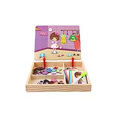 رخيصةأون -تركيب ألعاب الألغاز ألعاب المنطق و التركيب ألعاب مربع ورقة للأطفال 1 قطع