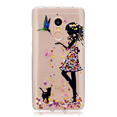 Voor xiaomi redmi note 4 note 3 3s case cover sexy dame patroon back cover soft tpu redmi note