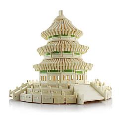 3D - Puzzle Holzpuzzle Spielzeuge Berühmte Gebäude Architektur Simulation Unisex Stücke