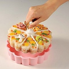 트레이 하트 케이크에 대한 얼음의 경우 빵 발아 플라스틱 DIY 고품질 친환경적인