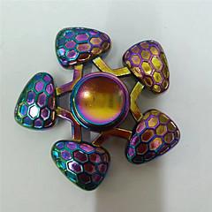 Fidget spinner -stressilelu hand Spinner Lelut Lelut Metalli EDCStressiä ja ahdistusta Relief Office Desk Lelut Killing Time Focus Toy