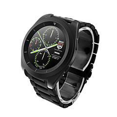 voordelige Smartwatches-G6 mtk2502 ultra dun ips scherm stapsnelheid hartslag monitoring metalen band bluetooth smartwatch voor android& ios