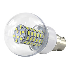 6W B22 Ampoules Globe LED 69 SMD 5730 500-550 lm Blanc Chaud Blanc Froid K V