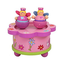 Spieluhr Spielzeuge Quadratisch Ente Holz Stücke Kinder Unisex Geburtstag Geschenk