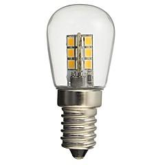 preiswerte LED-Birnen-hkv® led Birne e14 1w 2835smd 24led Glasschirm 360-Grad-Winkel Beleuchtung warm kaltweiß für Nähmaschine Kühlschrank