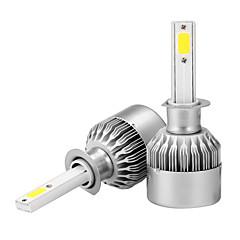 2pcs h1 a condus blub lumina farului de ceață lampă ip65 iphone impermeabil 6000k alb 36w 3600lm