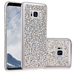 billige Galaxy S6 Etuier-Etui Til Samsung Galaxy S8 Plus S8 IMD GDS Bagcover Glitterskin Blødt TPU for S8 S8 Plus S7 edge S7 S6 edge S6