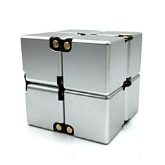 ο κύβος του Ρούμπικ Ομαλή Cube Ταχύτητα 2*2*2 Fidget Cube Μαγικοί κύβοι Brain Teasers & Rubik's Cube Αλουμίνιο Τετράγωνο Δώρο