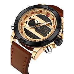 Χαμηλού Κόστους Ανδρικά ρολόγια-NAVIFORCE Ανδρικά Ψηφιακό ρολόι Μοναδικό Creative ρολόι Ρολόι Καρπού Στρατιωτικό Ρολόι Μοδάτο Ρολόι Αθλητικό Ρολόι Καθημερινό Ρολόι