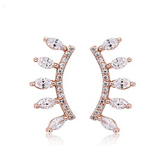 Women's Earrings Set Jewelry Unique Design Euramerican Fashion Zircon Alloy Jewelry Jewelry For Wedding Birthday Party/Evening Ceremony