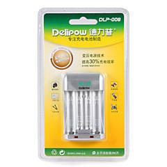 Delipow dlp-008 încărcător rapid baterie potrivită pentru aa / aaa nichel-metal hidrură nichel-crom baterie reîncărcabilă