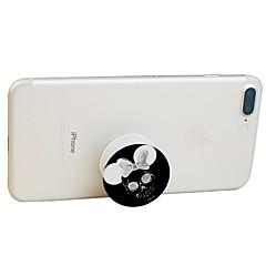 billige Telefonstativer og -holdere-Seng Skrivebord udendørs Mobiltelefon Tablet Montage Stativ Holder Justerbar Stander 360° Rotation Mobiltelefon Tablet Plast Holder