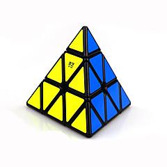 cubul lui Rubik Warrior Cub Viteză lină pyraminx Cuburi Magice Plastice Τρίγωνο Cadou