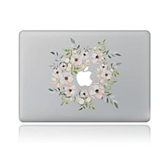 1 pieza Anti-Arañazos Floral De Plástico Transparente Adhesivo Diseño ParaMacBook Pro 15'' with Retina MacBook Pro 15 '' MacBook Pro 13''