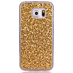 olcso Galaxy S3 tokok-Case Kompatibilitás Samsung Galaxy S8 Plus S8 Áttetsző Fekete tok Csillogó Puha TPU mert S8 Plus S8 S7 edge S7 S6 edge S6 S5 Mini S5 S4