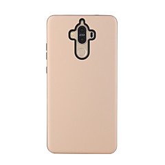 Недорогие Кейсы для Huawei других серий-Кейс для Назначение Huawei G8 / Huawei P8 / Huawei Защита от удара Кейс на заднюю панель Однотонный Твердый ПК для Huawei P8 Lite / Huawei P8 / Huawei Mate 8