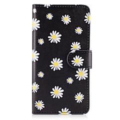 voordelige Overige hoesjes / covers voor Samsung-Case voor Samsung Galaxy Grand Prime on7 (2016) case cover de kleine witte bloemen patroon pu lederen cases voor on5 (2016)