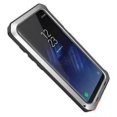 olcso Galaxy S6 tokok-Case Kompatibilitás Samsung Galaxy S8 Plus S8 Víz / Dirt / ütésálló Teljes védelem Páncél Kemény Alumínium mert S8 S8 Plus S7 edge S7 S6