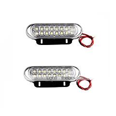 Недорогие Дневные фары-Для кроссовера / Для автоматического транспортера / Для трактора Лампы 10W SMD LED 500lm Светодиодная лампа Фары дневного света For