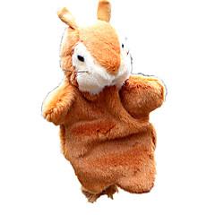 Lalki Pacynka na palec Zabawki Wiewiórka Animals Dziecko Sztuk