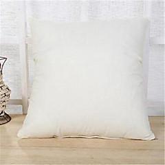 abordables Almohadas-1 pc 45 * 45cm bufanda de lino de color puro cojín suave decoración del hogar