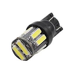 Недорогие Фары для мотоциклов-SO.K 10 шт. T10 Автомобиль Лампы 2 W SMD 4014 200 lm Светодиодная лампа Внешние осветительные приборы
