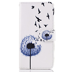 Case For SONY Xperia X XA Case Cover The Dandelion Pattern PU Leather Cases for Sony Xperia X compact XZ Premium Z5 Premium M2 M4 Aqua XA1 Ultra