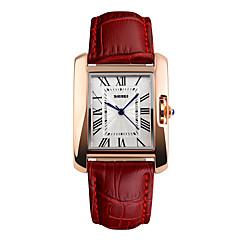 preiswerte Tolle Angebote auf Uhren-Herrn Sportuhr Armbanduhr Digital Echtes Leder Bandmaterial Mehrfarbig 50 m Wasserdicht Cool Analog Charme Modisch Elegant Kleideruhr Einzigartige kreative Uhr - Kaffee Rot Grün Zwei jahr
