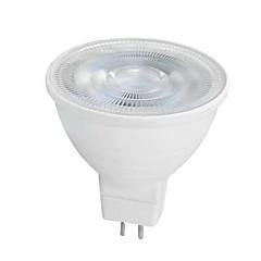 6W GU10 GU5.3(MR16) LED Spotlight MR16 SMD 2835 650 lm Warm White White K AC 220-240 V
