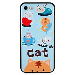 Case for apple iphone 7 plus 7 обложка обложка задняя крышка чехол кошка слово фраза soft tpu 6s плюс 6 плюс 6s 6