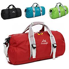 hesapli -Fengtu katlanır spor çantaları seyahat duffel spor çantası / yoga çantası seyahat organizatörü daypack holdall kamp&Yürüyüş
