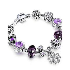 preiswerte Armbänder-Damen Strang-Armbänder - Freunde Luxus, Dehnbar, Modisch Armbänder Purpur Für Weihnachten Weihnachts Geschenke Hochzeit