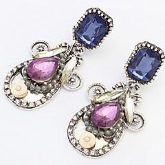 Dames Druppel oorbellen Ring oorbellen Multi-steen Bergkristal Basisontwerp Uniek ontwerp Logostijl Bergkristallen Vriendschap Movie