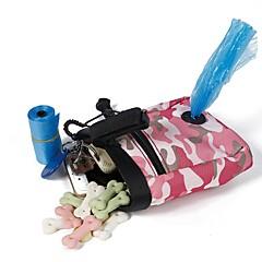 お買い得  犬用品&グルーミング用品-L ネコ 犬 餌入れ/水入れ ペット用 ボウル&摂食 携帯用 折り畳み式 耐久 グリーン ピンク