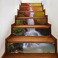 cheap Wall Decoration-Landscape Wall Stickers 3D Wall Stickers Waterproof, Vinyl Home Decoration Wall Decal Floor