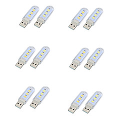 Lámpások & Kempinglámpák LED éjszakai fény USB fények-1.5W-DC Dekoratív Könnyű - Dekoratív Könnyű
