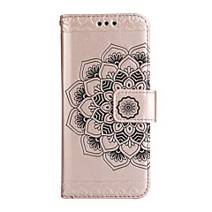 For Sony Xperia XA1 ULTRA XA1  Case Cover Card Holder Wallet with Stand Flip Full Body Case Flower Hard PU Leather for  XA XP Z5