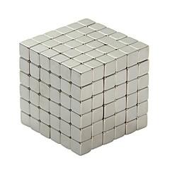 abordables Juguetes Magnéticos-64 pcs 3mm Juguetes Magnéticos Bloques magnéticos / Bloques de Construcción / Puzzle Cube Pasta de modelar magnética Clásico Plegable / Juguete del foco / Magnética Chica Niños / Adulto Regalo