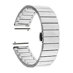 Недорогие Смарт-часы Аксессуары-Ремешок для часов для Huawei Watch 2 Huawei Бабочка Пряжка Нержавеющая сталь Повязка на запястье