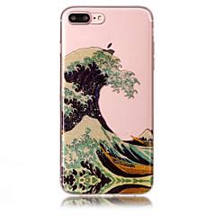 Недорогие Кейсы для iPhone 6 Plus-Кейс для Назначение Apple iPhone 7 / iPhone 7 Plus IMD / С узором Кейс на заднюю панель Пейзаж / Сияние и блеск Мягкий ТПУ для iPhone 7 Plus / iPhone 7 / iPhone 6s Plus