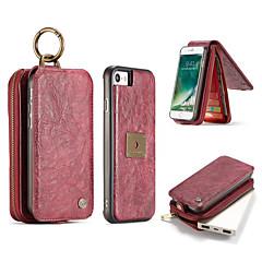 Недорогие Кейсы для iPhone 6 Plus-Чехол для iphone 7 плюс 7 корпусов люкс ретро многофункциональный 2 в 1 секунду слой кожаный чехол магнит задняя крышка 6 плюс 6