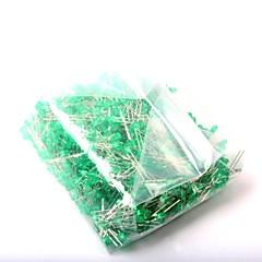 abordables Diodos-Diodo emisor de luz llevado 3m m luz verde (1000pcs)