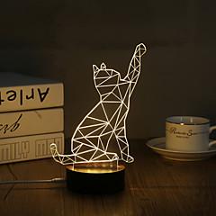 preiswerte Ausgefallene LED-Beleuchtung-Dekorations Beleuchtung LED-Nachtlicht-0.5W-USB Dekorativ - Dekorativ