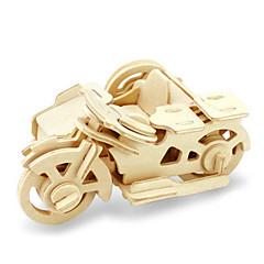 ieftine -Puzzle 3D Puzzle Modele de Lemn Dinosaur Aeronavă Moto 3D Reparații De lemn Lemn Clasic Motocicletă Unisex Cadou