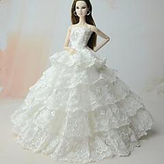 Elbiseler Elbise İçin Barbie Bebek İçin Kız Oyuncak bebek
