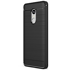Asling case voor redmi note 4x / redmi note 4 case cover schokbestendig frosted back cover case solide kleur zachte koolstofvezel
