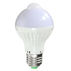 preiswerte LED-Birnen-1pc 7 W 700 lm B22 / E26 / E27 Smart LED Glühlampen A60(A19) 14 LED-Perlen SMD 5730 Sensor / Infrarot-Sensor / Lichtsteuerung Warmes Weiß / Kühles Weiß 85-265 V / 1 Stück / RoHs