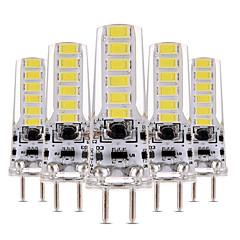 cheap LED Bulbs-4W LED Bi-pin Lights T 12 leds SMD 5730 Dimmable Decorative Warm White Cold White 300-400lm 2800-3200/6000-6500K AC 12 DC 12-24V